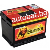 Battery Banner POWER BULL 12/62 Ah R+