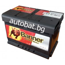 Battery Banner POWER BULL 12/74 Ah R+