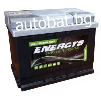 Battery ENERGYS - 12/63 Ah R+