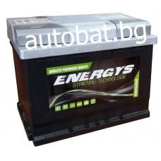 Battery ENERGYS - 12/63 Ah R+
