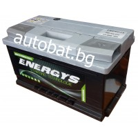 Battery ENERGYS - 12/80 Ah R+