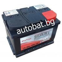Battery START Extra - 12/60 Ah R+