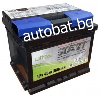 Battery START Ultra - 12/45 Ah R+